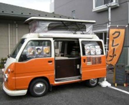 スィーツ・カフェ系ケータリングカー クレープ