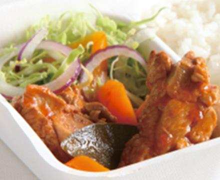 ケータリングカー ハイチ料理