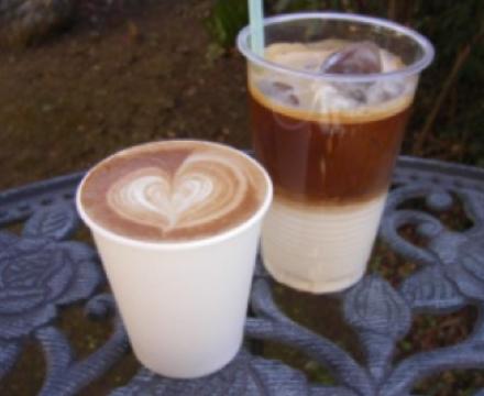 スィーツ・カフェ系ケータリングカー アイスコーヒー