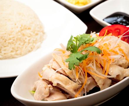 シンガポール 海南鶏飯 キッチンカー ケータリング おしゃれ おいしい