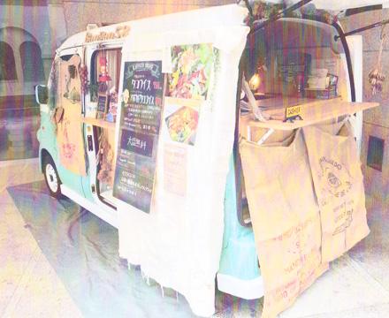 タコライス ハワイアン かわいい車両 キッチンカー 神奈川
